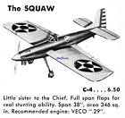 Veco Plans: The Squaw II by Joe Wagner