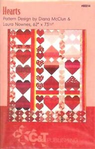 📒 Quilt Pattern Hearts LAST ONE