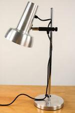 Tisch Lampe SIS Techniker Architekten Leuchte Alu Chrom Stativ 60er Jahre