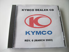KYMCO DEALER PC CD DISK PART CATALOGUE SERVICE SCHEDUAL TECHNICAL DATA