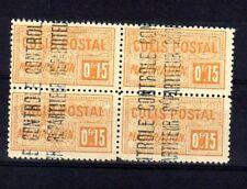 ALGERIE Colis Postaux n° 11 neuf avec charnière - Bloc de 4