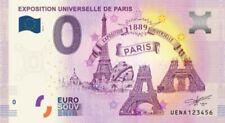 Billet Touristique 0 Euro - Exposition universelle de Paris - 2019-1