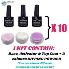 10x Dipping Powder STARTER KIT Wholesale Acrylic System