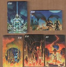 PROMO CARD SET: FPG / CHAMPS PHONE CARDS (5) DON MAITZ