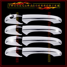 For JEEP Patriot 2007 2008 2009 2010 2011 2012 Chrome 4 Door Handle Covers w/o P