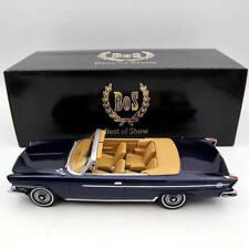1/18 BOS Models Chrysler 300H Convertible 1962 Dark Blue BOS312 Models Car Gift
