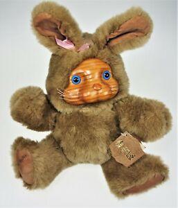 Bunny Rabbit Bear Raikes Original 20400 Ashley Wood Face Applause Stuffed Animal