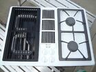 Jenn Air Gas Cooktop & Grill White Jgd8130adw Never Installed Please Read New photo