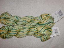 2 SKEINS - Cascade Yarns - ULTRA PIMA PAINTS. Color 9771- Lemon/LIME - 440 yards