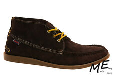 New Sebago CAMPSIDES MID Chukka Leather Men Boots Size 9 Brown