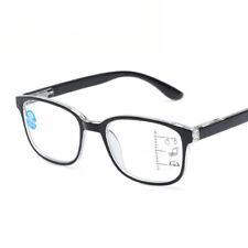 New Progressive Multifocal Reading Glasses Blue Film Lens Anti-UV For Men Women