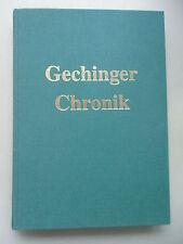 Gechinger Chronik 1996 Gechingen