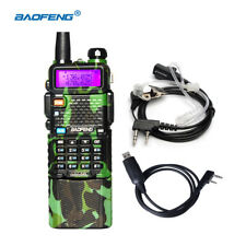 BaoFeng UV-5R Two Way FM Radio 128 Channels Camouflage 3800mah Battery