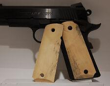 Gun / Pistol Grips, 1911 Full Size,  California Buckeye, Stabilized Wood*