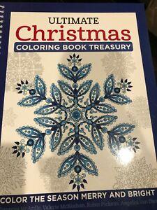 "NEW ""Design Orginals' Ultimate Christmas Coloring Book Treasury"