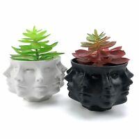 Multi Face Succulent Planter Vase Modern Nordic Succulent Cactus Flower Pot