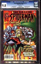Amazing Spider-Man V2 15 CGC 9.8 John Byrne Doctor Doom Appearance #456