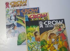 Crow Of The Bear Clan 1-4 - Blackthorne Comic Book Series Lot