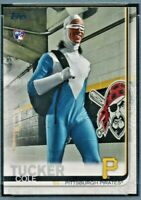 2019 Topps Update #US197 COLE TUCKER Photo Variation SP Rookie Pirates RC