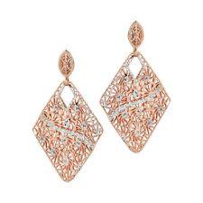 ORECCHINI BOCCADAMO Chevron, pendenti in argento rosato 925, glitter ref OR625RS