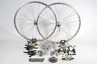 "Shimano Bicycle Groupset Mountain Bike Touring Cyclocross 7 Speed 26"" MTB Wheels"