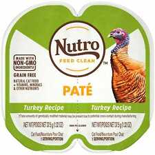 Nutro Perfect Portions Real Turkey Pate Wet Cat Food