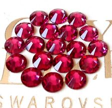 FUSCHIA 144 Swarovski Crystal Rhinestones Flatback ss16, 16ss #2058
