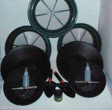 BLACK SUPER DELUXE GOLD PANNING KIT - Classifier, Pan, Tweezer, Vial, Magnet ect