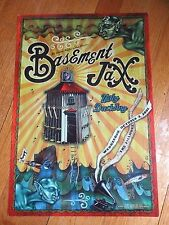 BILL GRAHAM PRESENTS FILLMORE POSTER~Basement Jaxx Ugly Duckling 10/3/01~F480