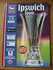 18/10/2001 Ipswich Town v Helsingborgs [UEFA Cup] (Item in very good condition,