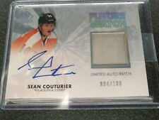 2011-12 UD SP Authentic SEAN COUTURIER Future Watch Limited Auto Patch 94/100