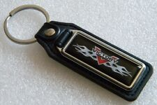 VICTORY FLAMES KEY FOB CHAIN RING MOTORCYCLES BIKE RIDER CROSS COUNTRY V2 GUNNER