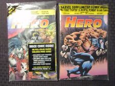 1993 HERO ILLUSTRATED Price Guide Magazine #3 4 LOT of 2 Sealed w/ All Inserts