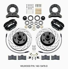Wilwood Front Disc Brake Kit 65- 69 Mustang Drilled