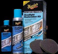 Meguiars 2 Step Headlight Restoration Kit FREE PRIORITY Shipping HI,PR,GU,AK,USA