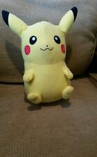 "Pokemon Go 10"" Pikachu Plush Soft Toy Stuffed Animal Cuddly Doll collectible"