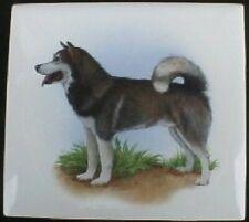 Ceramic Tile Alaskan Husky #2 Dog