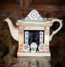 Portmeirion Botanic Garden 1 One Cup Fireplace Mini Teapot Paul Cardew