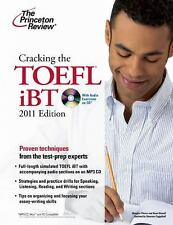 Cracking the TOEFL iBT with CD, 2011 Edition (Test Preparation)-ExLibrary