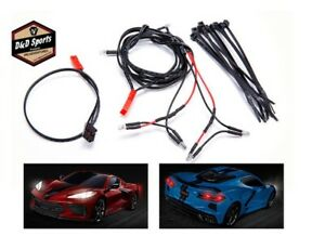 Traxxas 9380 - LED light harness/ power harness/ zip ties (9) (fits #9311 body)