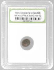Rare Very Old Ancient Antique Widows Mite Roman Empire Era Jesus Bible Coin Y141