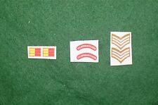 1/6 Segunda Guerra Mundial Británico Coldstream Guards Títulos De Hombro Parche juego de lote