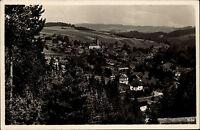 Wurzbach Thüringen 1937 gelaufen nach Ronneburg mit Bahnpost Stempel Zug 3953