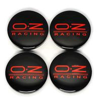 OZ Racing 4 x 56mm Radkappen Nabenkappen Nabendeckel Felgendeckel 4 Stück Emblem