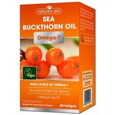 Nature'S AID Olivello Spinoso Olio 500 MG (Omega - 7) Capsule 60