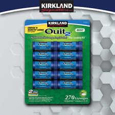 Kirkland Signature Quit 2 Mint Lozenge Stop Smoking Aid 270 Pieces 2 mg
