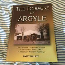 PATSY MILLETT. THE DURACKS OF ARGYLE. KIMBERLEY, WESTERN AUSTRALIA. 0864451822