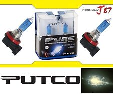 Putco 4400K Nitro Blue H8 230008NB 35W Two Bulbs Fog Light Replacement Lamp Fit