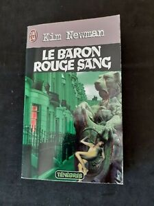 Le baron rouge sang - Kim Newman - J'ai Lu Ténèbres