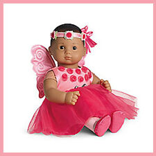 New American Girl Bitty Baby Doll Dress Up Wings Wreath Tutu Costume Ballet Free